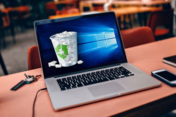 پاک کردن فایل های لپ تاپ
